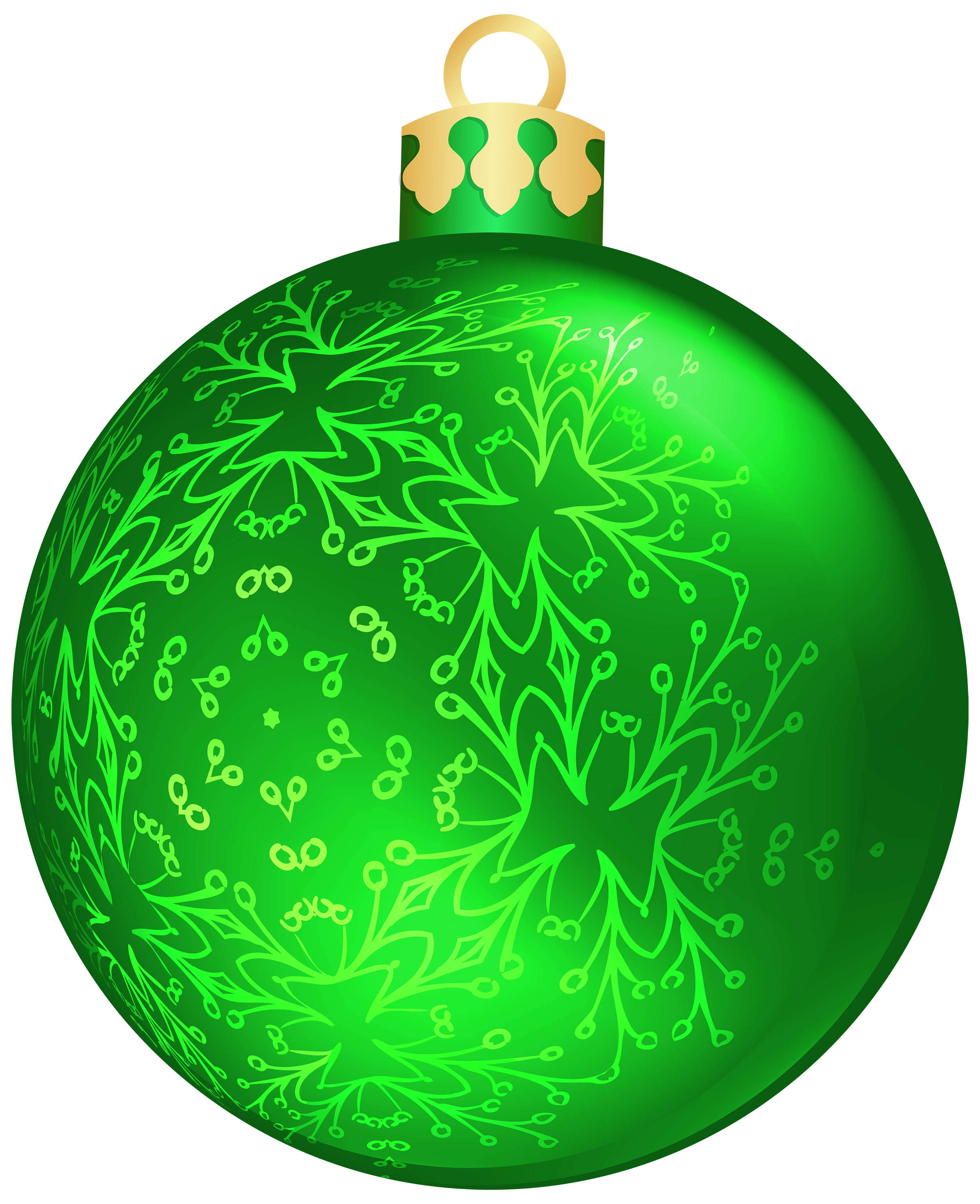 Hanging christmas ornament clipart png freeuse library Green Christmas Ball PNG Clipart - Best WEB Clipart png freeuse library
