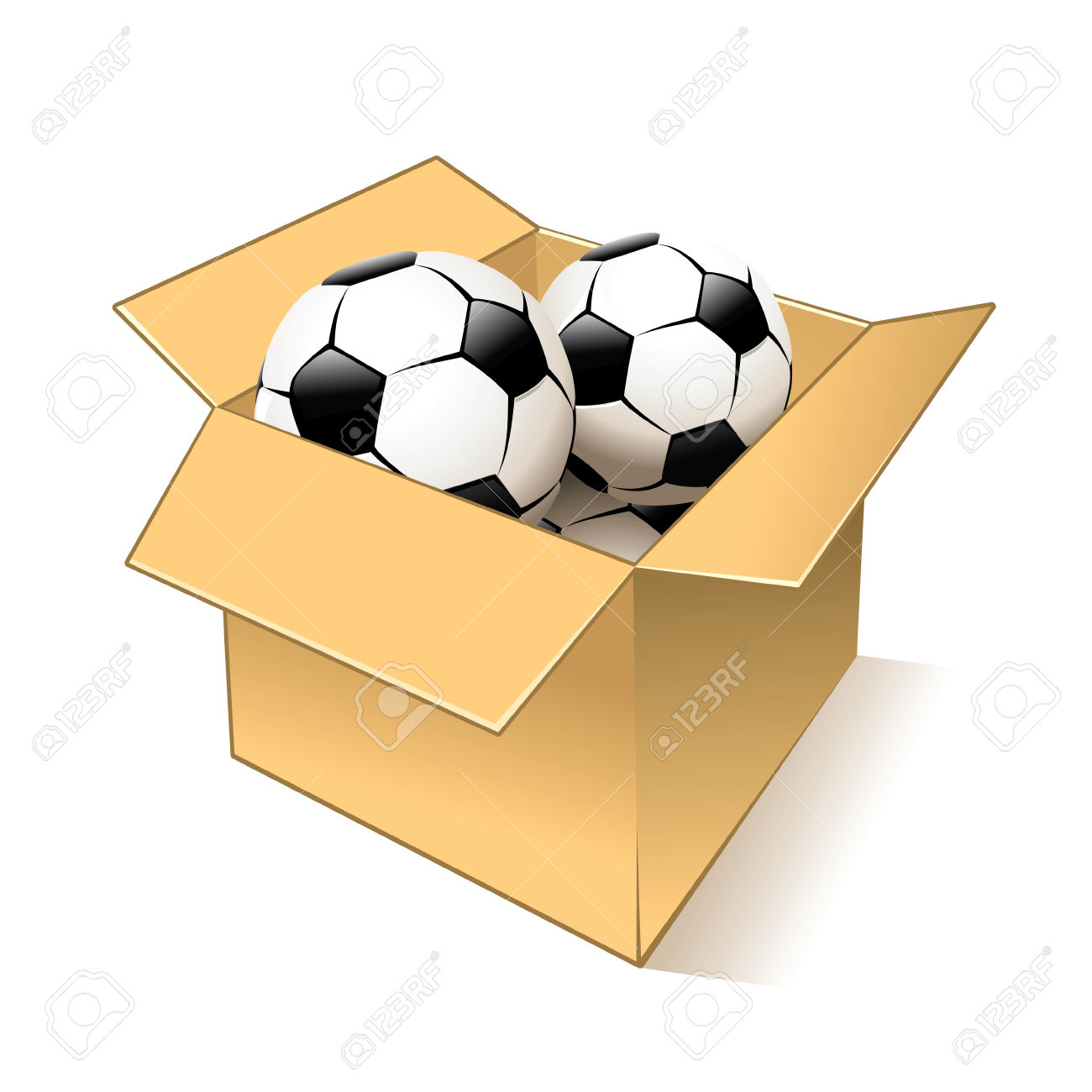 Ball in the box clipart 9 » Clipart Station royalty free