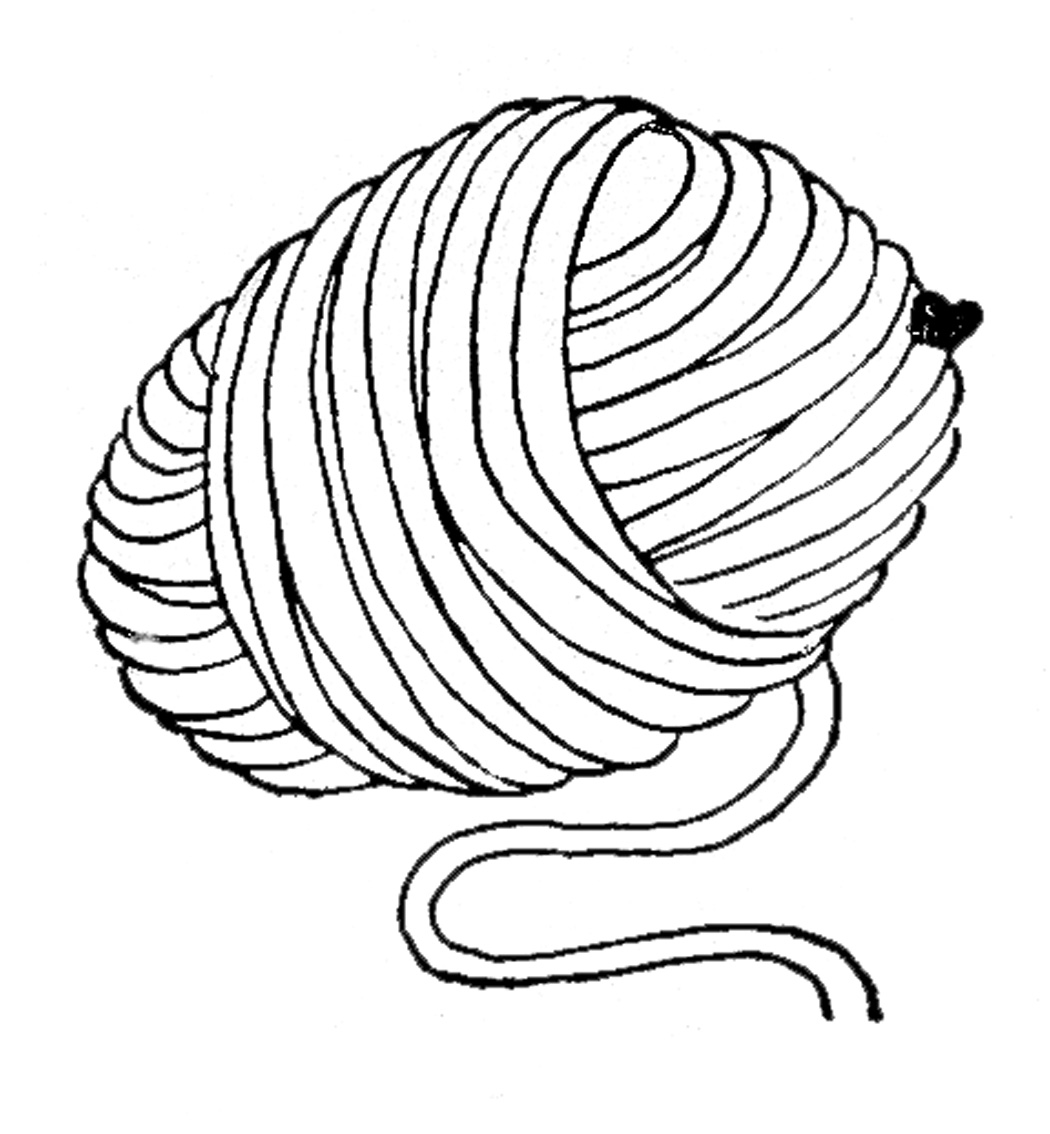 Ball of yarn black and white clipart clip art freeuse library Free Yarn Cliparts Printable, Download Free Clip Art, Free Clip Art ... clip art freeuse library