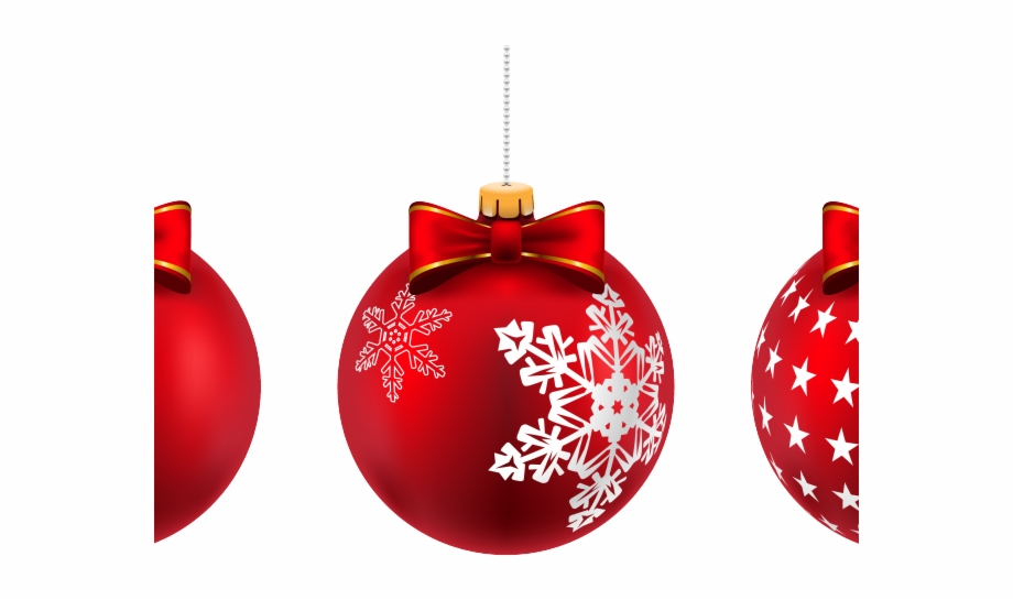 Ball ornament picture frame clipart clip free download Christmas Ball Clipart Round Frame - Red Christmas Ornaments ... clip free download