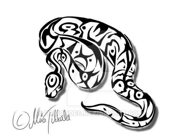 Ball python clipart black and white svg free stock Ball python tattoo by Demondes.deviantart.com on @DeviantArt   snape ... svg free stock