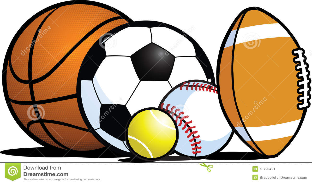 Clipart sports equipment clip art freeuse 103+ Sport Balls Clipart | ClipartLook clip art freeuse