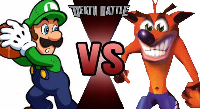 Balled boy holding money clipart picture free download Luigi vs. Crash Bandicoot: Prelude by kart42 on DeviantArt picture free download