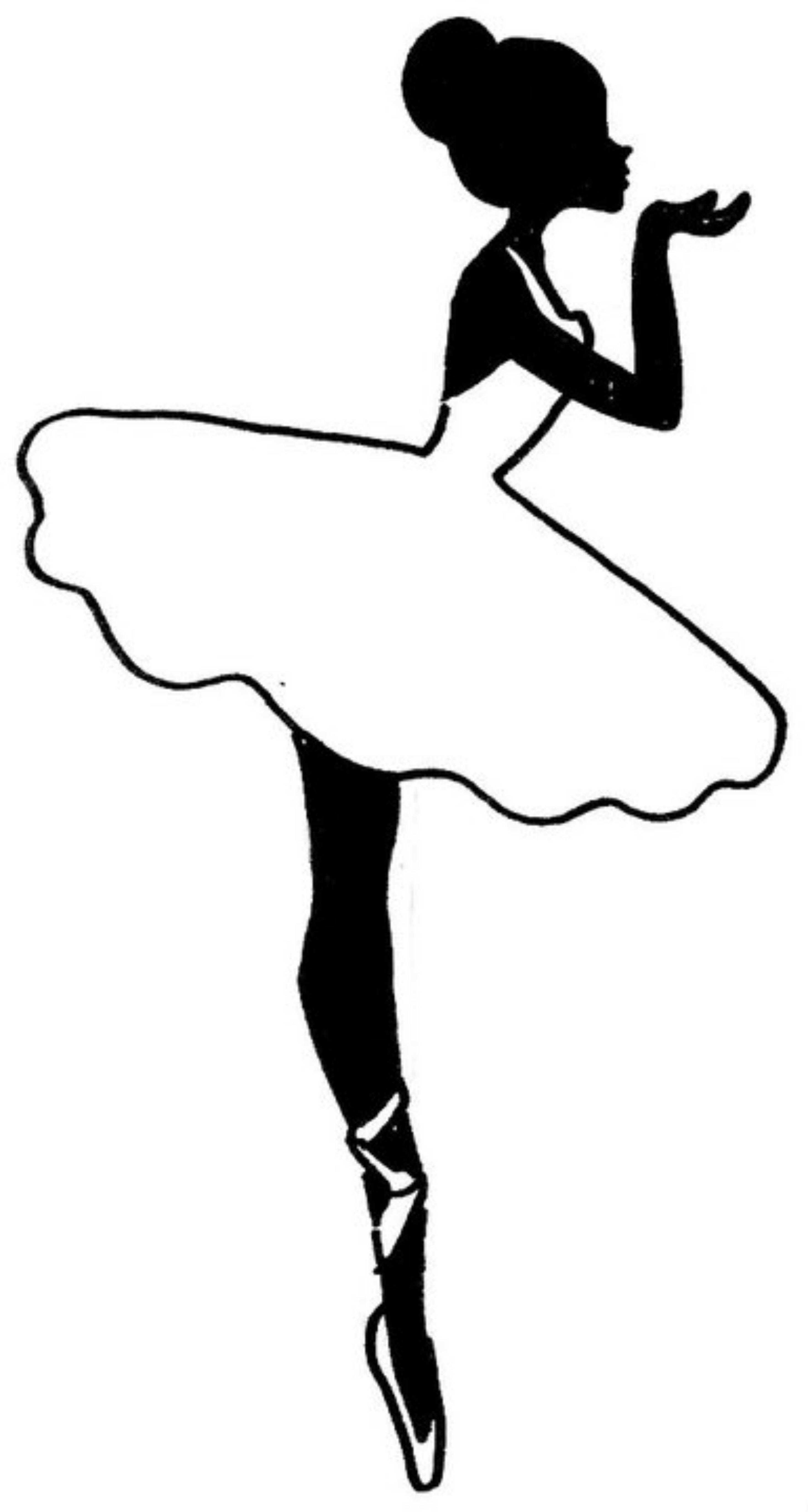 Ballerina clipart black and white clip art black and white Ballet Clipart Black And White   Free download best Ballet Clipart ... clip art black and white