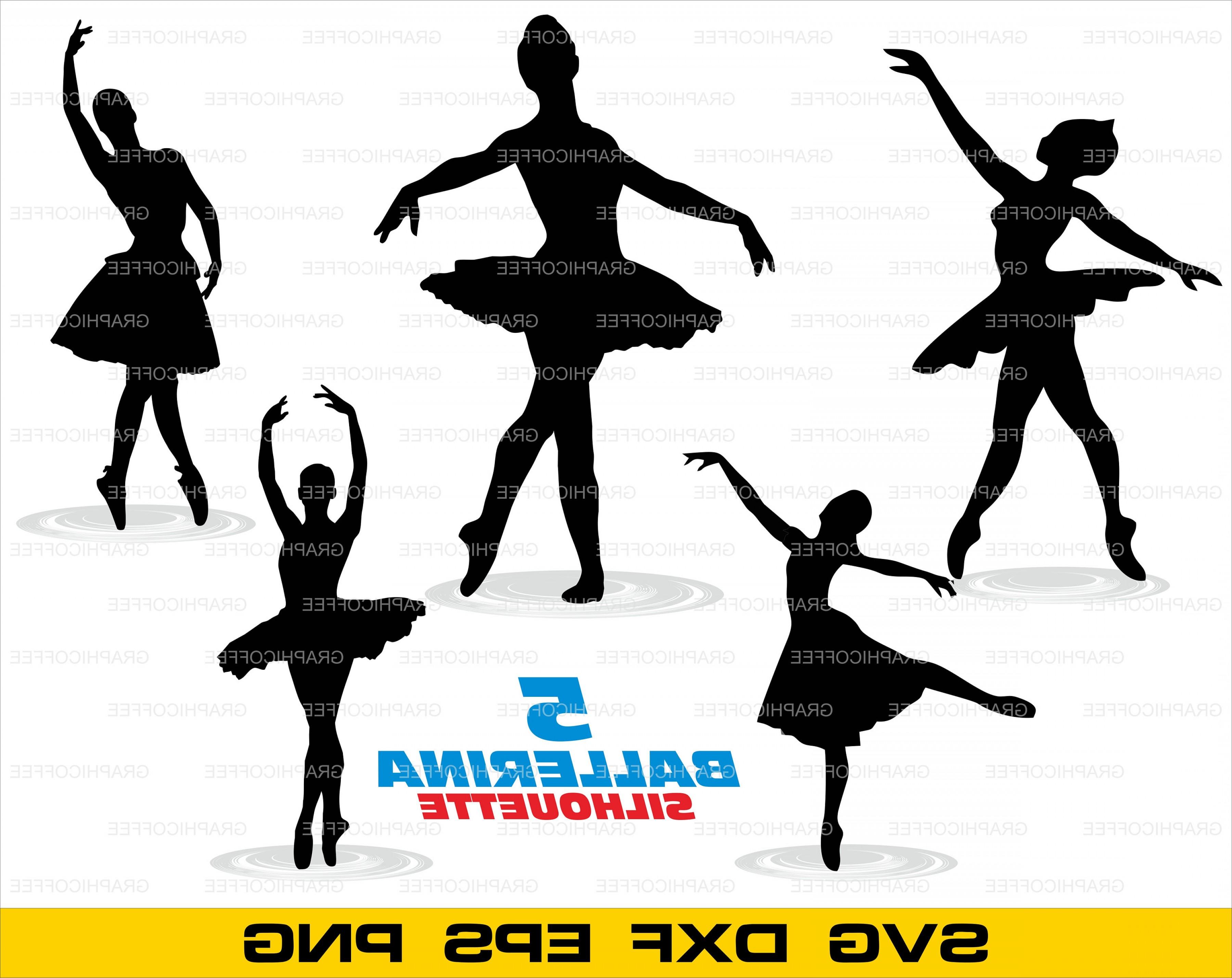 Ballerina clipart svg clipart free Ballerina Svg Clipart Cut Files Vector | HandandBeak clipart free
