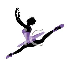 Ballerina jumping clipart transparent download A Ballet Dancer Jumping High Into the Air - Royalty Free Clipart Picture transparent download
