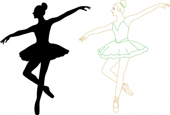 Ballerina silhouette commercial clipart png library download Ballet free vector download (59 Free vector) for commercial use ... png library download
