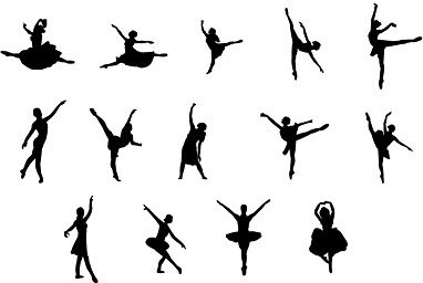 Ballerina silhouette commercial clipart vector free Ballet free vector download (59 Free vector) for commercial use ... vector free