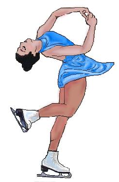 Ballerina with ice skates clipart clipart freeuse Ice Skater Clipart clipart freeuse