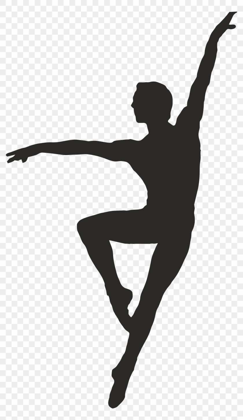 Unique dance clipart banner black and white download Unique Male Ballet Dancer Clip Art Design » Free Vector Art, Images ... banner black and white download