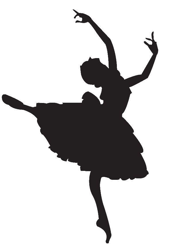Ballet dancer clipart free jpg library Ballet Dancer Clipart Silhouette Panda Free Images … | Fairies ... jpg library
