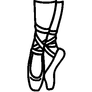 Ballet shoes dance clipart black and white picture free stock Free Ballet Shoes Clip Art Black And White, Download Free Clip Art ... picture free stock