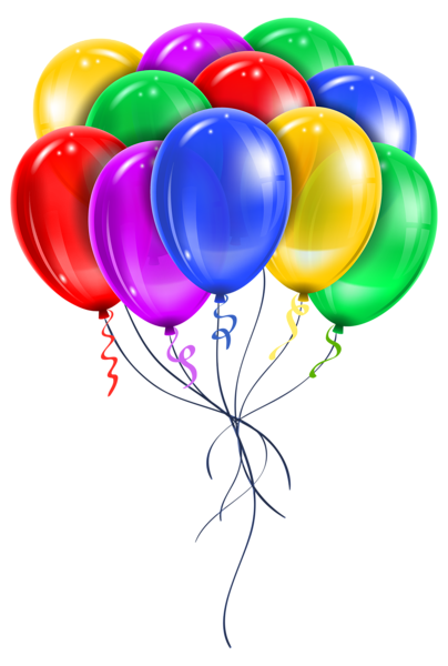 Balloon bouquets clipart graphic library transparent balloon bouquet | PARTY & CELEBRATION CLIPART | Happy ... graphic library