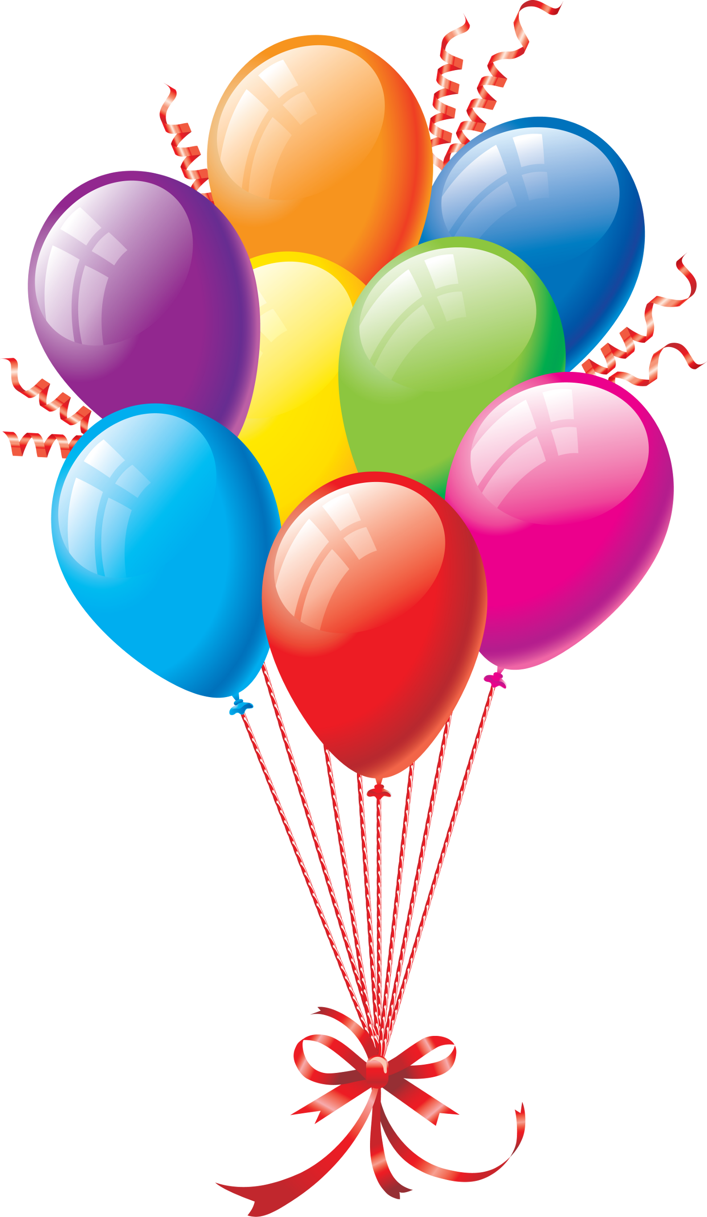 Balloon bouquets clipart clipart black and white Free Balloon Bundle Cliparts, Download Free Clip Art, Free Clip Art ... clipart black and white