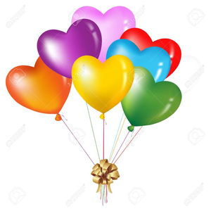Balloon bouquets clipart jpg royalty free Free Balloon Bouquet Clipart | Free Images at Clker.com - vector ... jpg royalty free