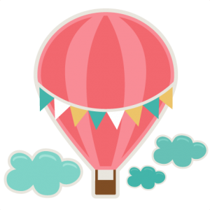 Balloon clipart file png library Hot Air Balloon SVG cutting file for scrapbooks svg cut files free ... png library