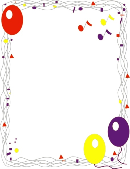 Balloon Border clip art Free vector in Open office drawing svg ... image royalty free stock