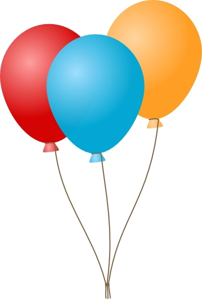 Balloons clip art Free vector in Open office drawing svg ( .svg ... svg library stock