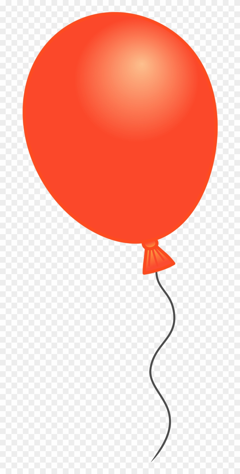 Balloon clipart svg royalty free library Svg Library Orange Balloon Cliparts Download Clip Art - Single ... royalty free library