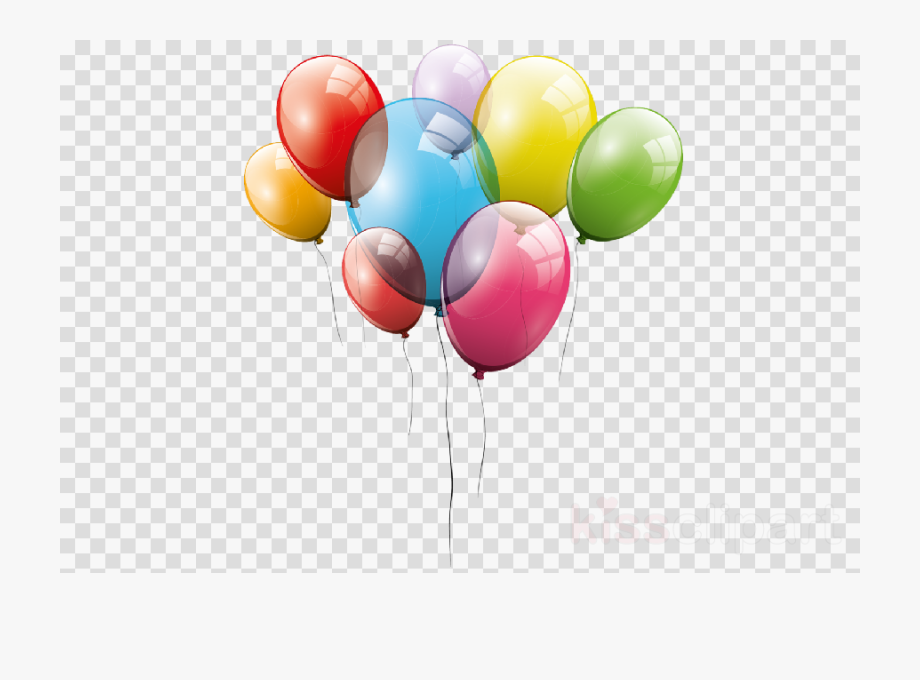 Balloons clipart transparent banner freeuse download Balloon Clipart Transparent Background - Party Balloons Transparent ... banner freeuse download