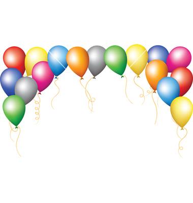 Balloon frames clipart image freeuse stock Balloons Border Clipart | Free download best Balloons Border Clipart ... image freeuse stock