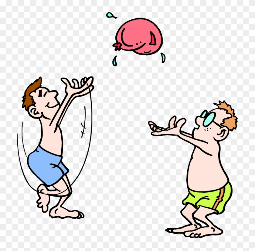 Balloon race clipart image transparent library Free Water Balloon Clipart - Water Balloon Toss Clipart, HD Png ... image transparent library