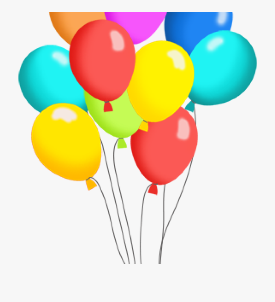 Balloon release clipart clip art royalty free download Free Clip Art For Birthday Balloons - Transparent Background Happy ... clip art royalty free download