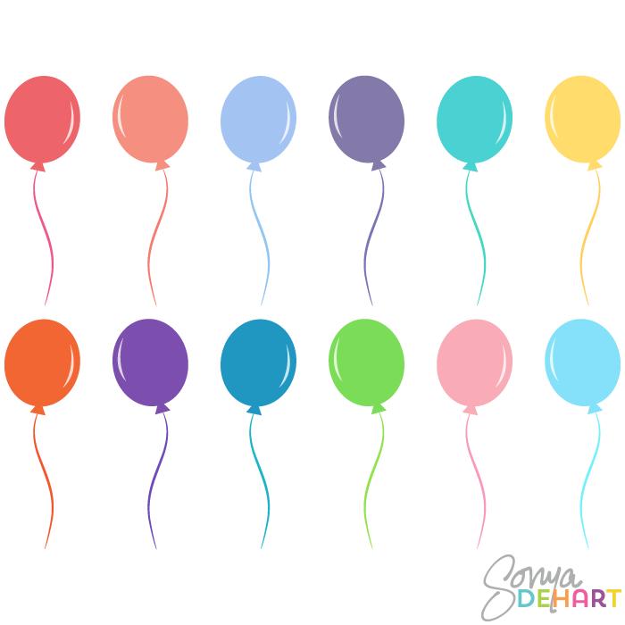Balloon vector clipart free clipart royalty free Birthday Balloon Vector Png Vector, Clipart, PSD - peoplepng.com clipart royalty free