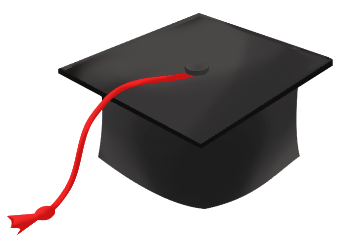 Balloon with grad hat clipart jpg library stock Graduation Clipart - Free Graduation Graphics jpg library stock