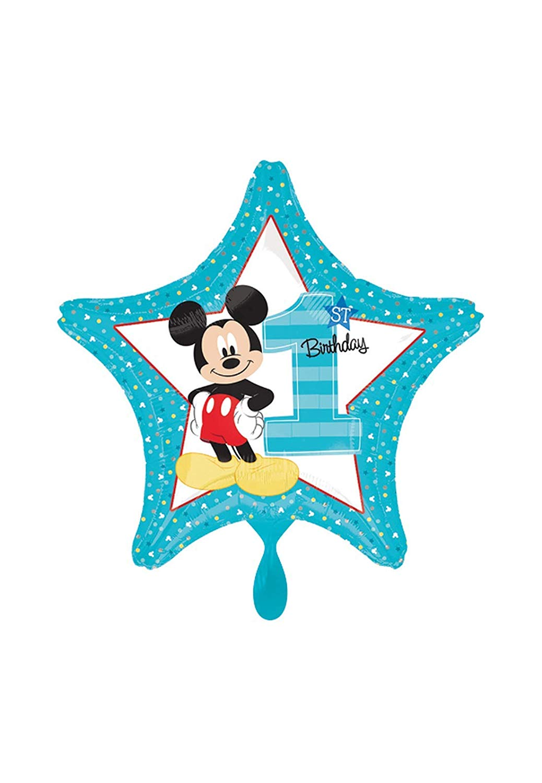 Balloonarama clipart jpg black and white Balloonarama - Globo XL - Primer cumpleaños con diseño de Mickey ... jpg black and white