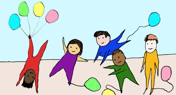 Balloonarama clipart jpg freeuse How to Play The \'Balloon Stomp\' Game With Toddlers And Little Kids ... jpg freeuse