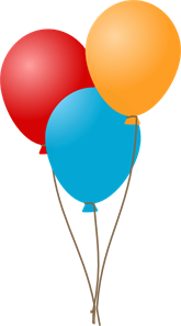 Three Balloons PNG, SVG Clip art for Web - Download Clip Art, PNG ... svg library library