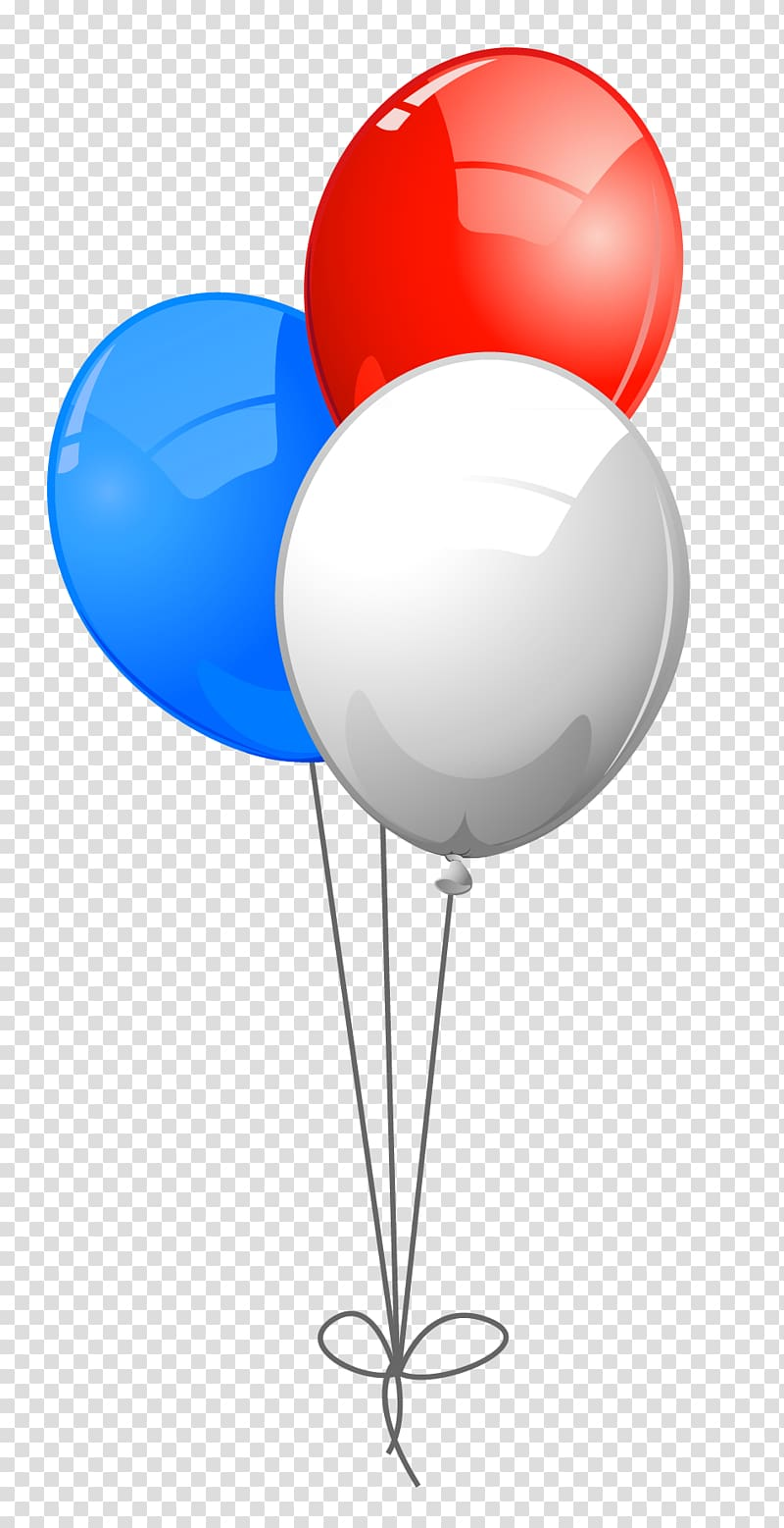 Three white, red, and blue balloons illustration, Blue Balloon Red ... png royalty free stock