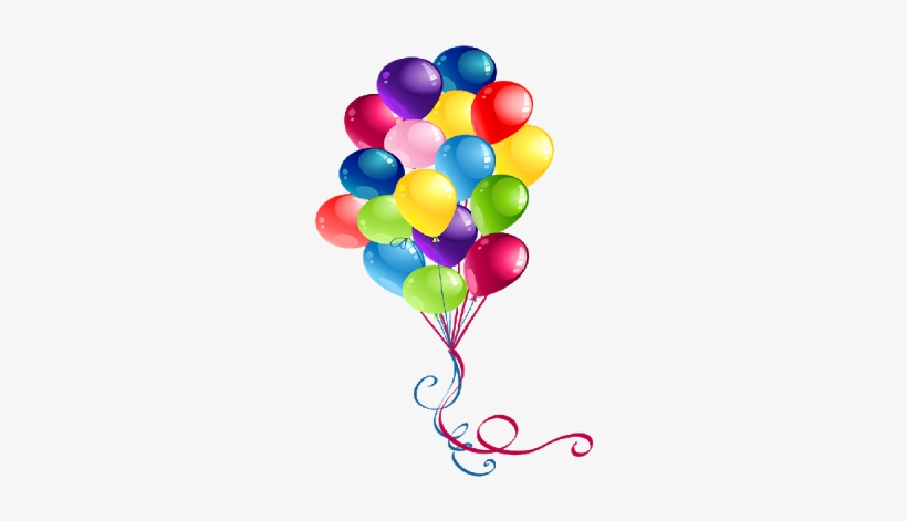 Baloons clipart clear background vector library Amazing Clipart Birthday Balloons Party Balloons Party - Transparent ... vector library