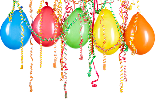 Balloons streamers clipart clip art royalty free library Free Pictures Of Balloons And Streamers, Download Free Clip Art ... clip art royalty free library