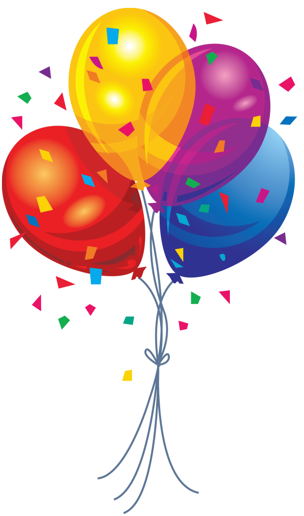 Balloons streamers clipart image Interesting Free Clip Art Balloons And Streamers Terrific Kisspng ... image