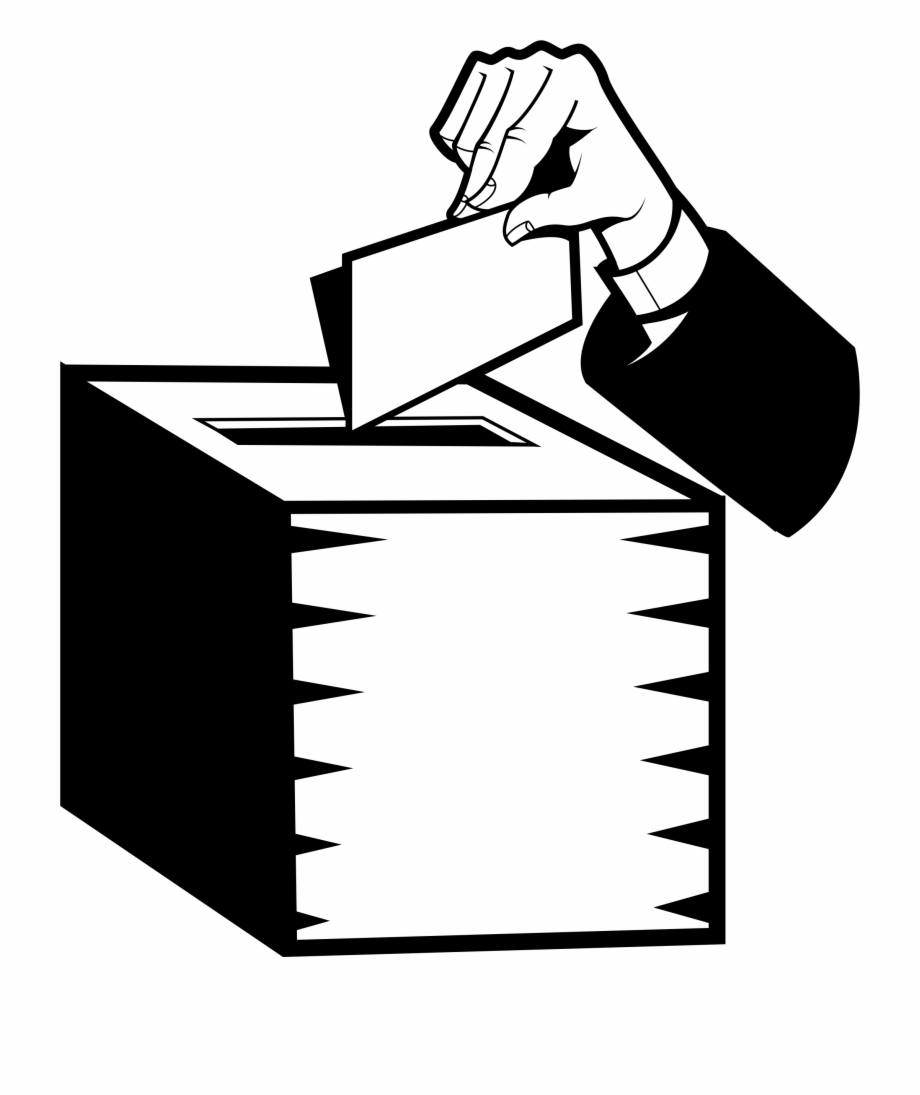 Ballot box clipart cover photo clip royalty free Vote Box Png - Voting Ballot Clipart, Transparent Png Download For ... clip royalty free