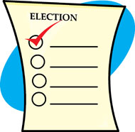 Election ballot clipart picture black and white library Free Ballot Cliparts, Download Free Clip Art, Free Clip Art on ... picture black and white library