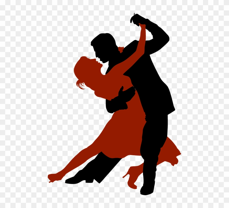 Ballroom dancing silhouette clipart graphic library download Ballroom Dancing Silhouette Clipart Ballroom Dance - Dancing Man And ... graphic library download