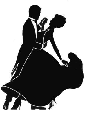 Ballroom dancing silhouette clipart picture black and white ballroom dancing silhouette r4 | Lora pinned :) | Dancing clipart ... picture black and white
