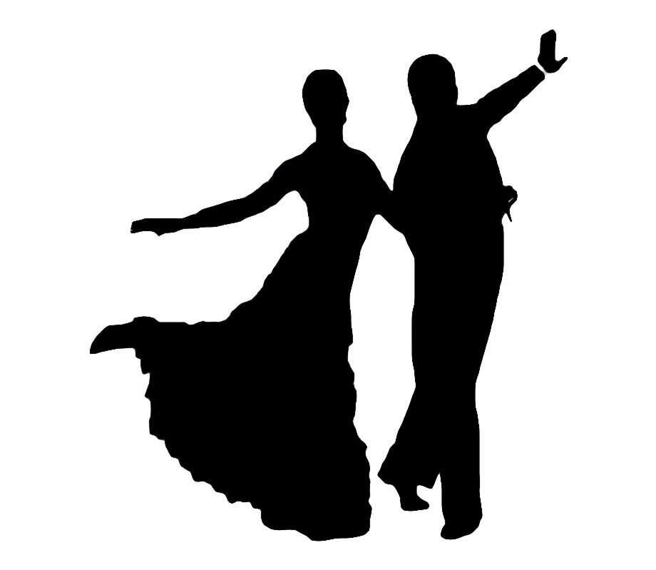 Ballroom dancing silhouette clipart graphic transparent library Dancing Clipart Social Dance - Transparent Silhouette Ballroom ... graphic transparent library