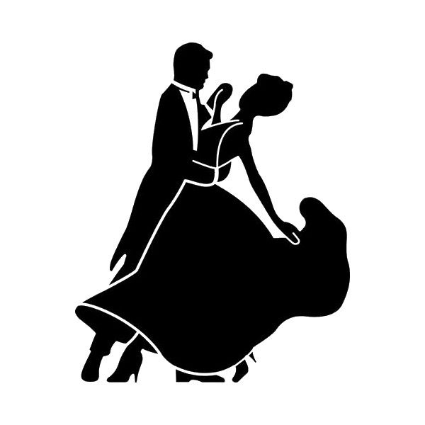 Ballroom dance clipart silhouettes picture library stock ballroom dancer ❤ liked on Polyvore featuring dance, backgrounds ... picture library stock
