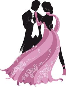 Ballroom dance clipart silhouettes vector royalty free download Ballroom Dance Clipart Silhouettes | Free Images at Clker.com ... vector royalty free download