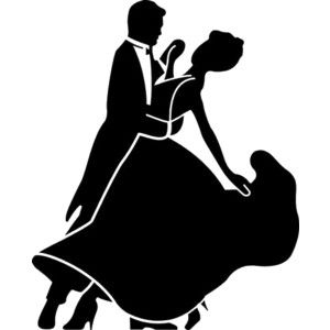 Ballroom dancing silhouette clipart banner freeuse library Cinderella+Silhouette+Clip+Art | Ballroom and Latin Dance - Polyvore ... banner freeuse library