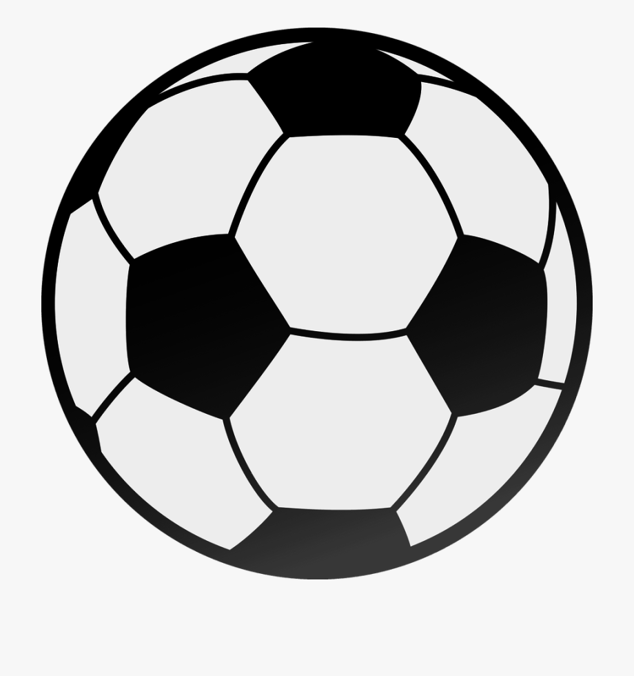 Soccer clipart vector black and white stock Football Black And White Image Of Football Clipart - Vector Soccer ... black and white stock