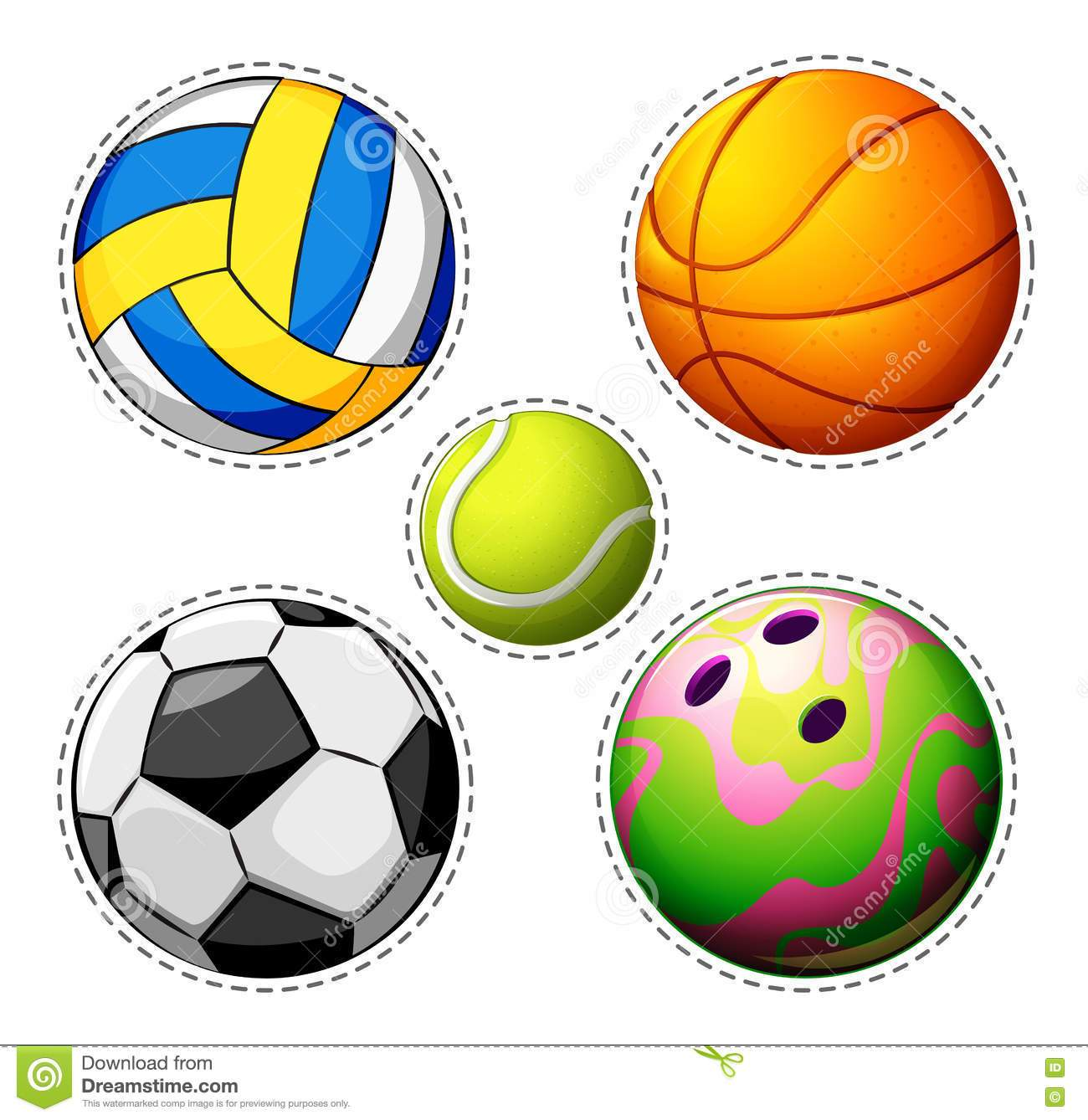 Balls images clipart banner transparent download Different types of balls clipart 8 » Clipart Portal banner transparent download