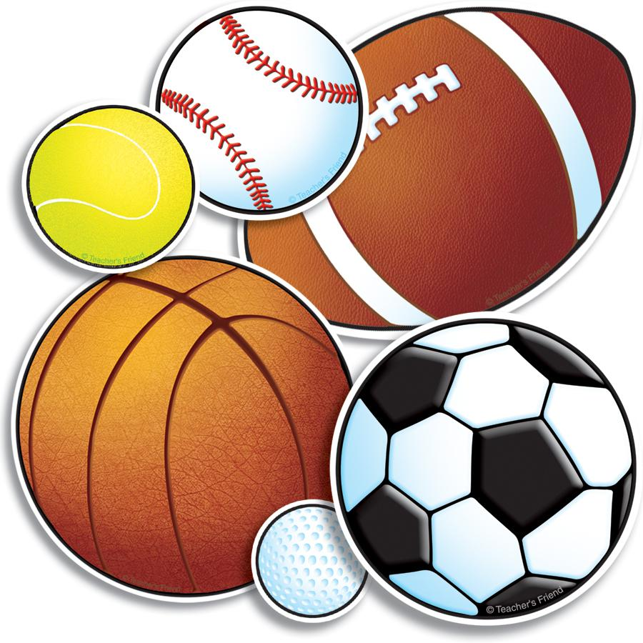 Sports collage clipart