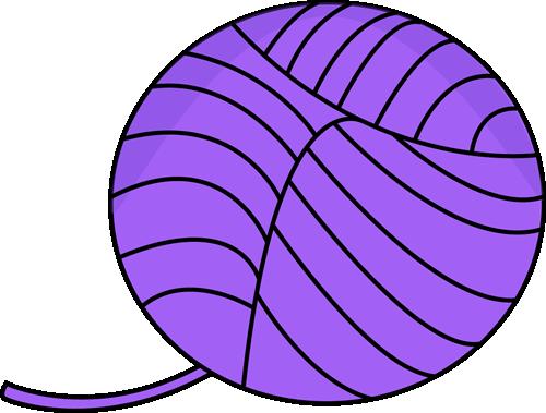 Yarn clipart purple image freeuse stock Balls of yarn clipart » Clipart Station image freeuse stock