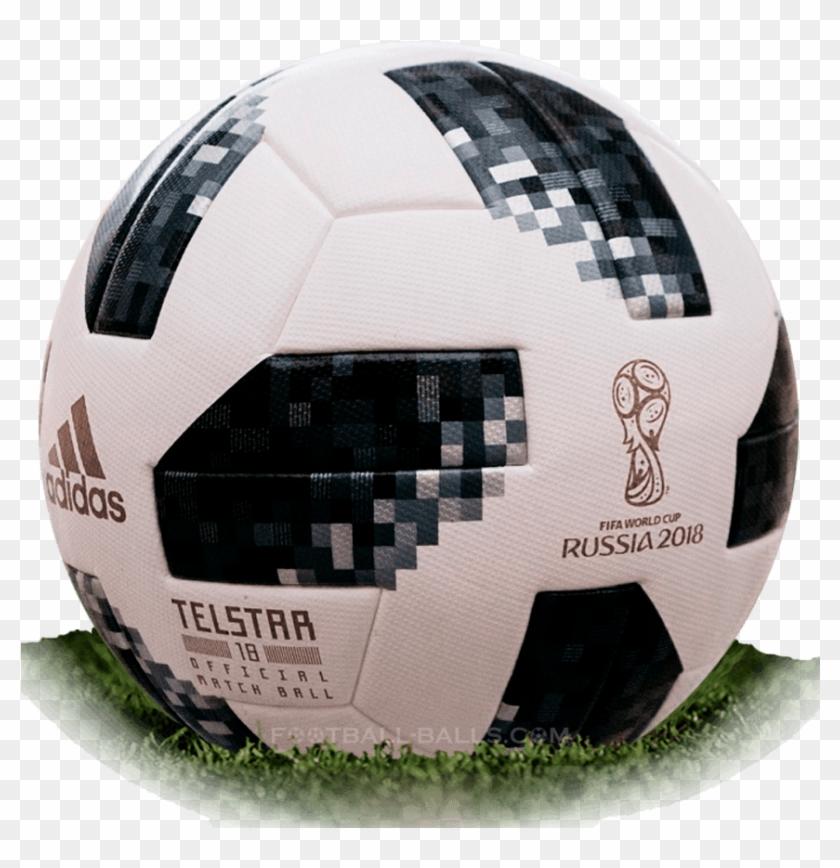 Balon de futbol rusia 2018 clipart clip download Adidas Telstar 18 Is Official Match Ball Of World Cup - World Cup ... clip download