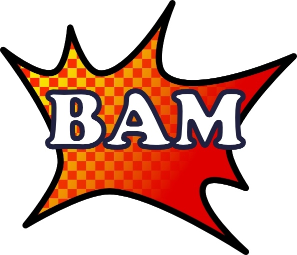 Bam clipart png royalty free download Bam Splash clip art Free vector in Open office drawing svg ( .svg ... png royalty free download